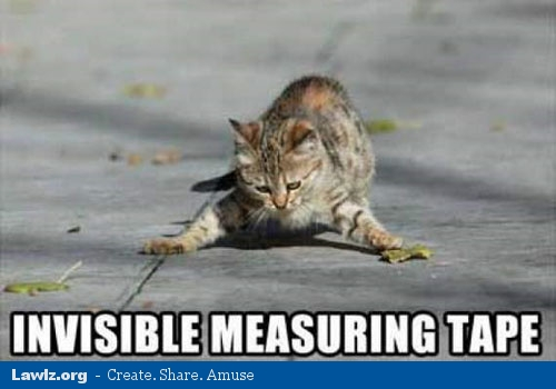 Invisible-measuring-tape
